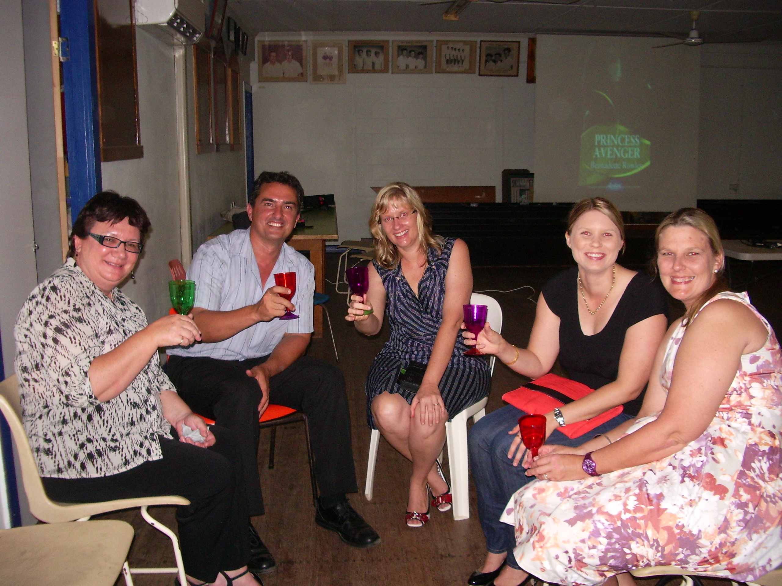 Joanne, Frank, Michelle, Amy and Jacinta